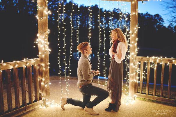 Как сделать романтичное предложение руки 10