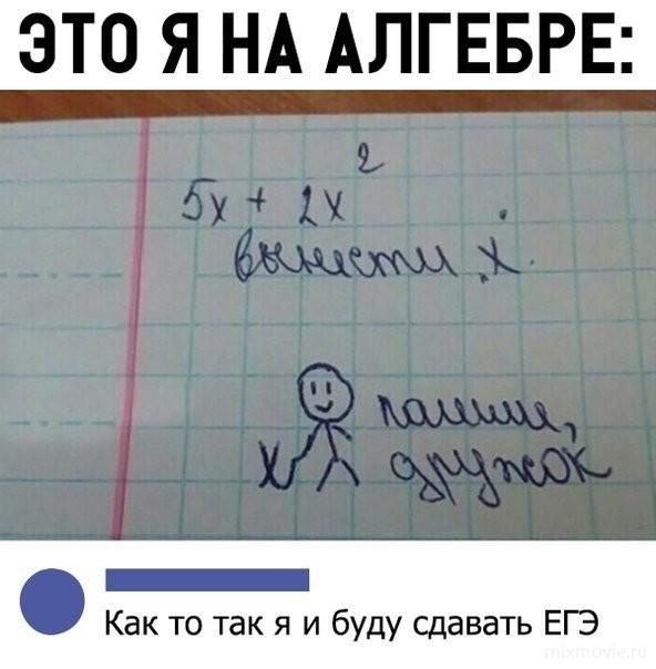 Папирус, смешные картинки алгебра